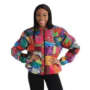 Jackets & Coats - African Patchwork Coat
